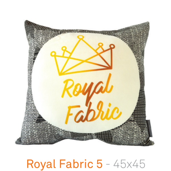 A House of Happiness Sofakissen – Royal Fabric 5